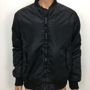 Ben Sherman Flight Jacket Black Size Medium